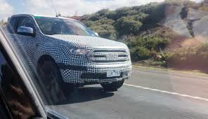 2019 ford ranger spy shots and video 2019 ford ranger v6 spied in australia photos 1 of 4