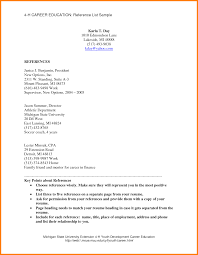 prepossessing resume reference page guidelines for your resume