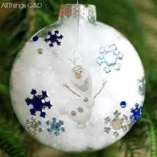 diy olaf ornament all things g d