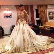 cinderella wedding dresses new cinderella two pieces wedding dress arabic gown gold lace