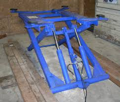 scissor lift table harbor freight product review harbor freight hydraulic scissor lift the truth