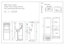Tankstick Cabinet Plans Xtension Pedestal Arcade Cabinet Plans Nrtradiant Com