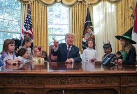 this is what us president trump had to say at pre halloween party
