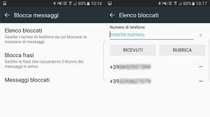 come bloccare sms android androidworld