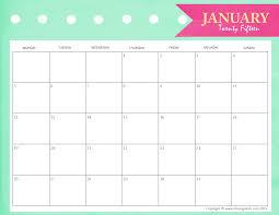 printable planner january 2015 january 2018 calendar pdf vertex daway dabrowa co