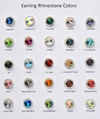 how to make your own clip on earrings 12mm silver clip on earrings with clear crystals around an