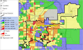 denver schools map largest 100 districts