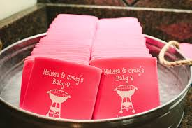 baby shower koozies a couples shower for baby h everyday
