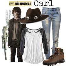 Carl Grimes Halloween Costume Carl Walking Dead