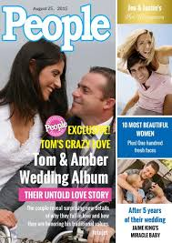 Wedding Magazine Template Family Photo People Magazine Cover Design Template Fotojet