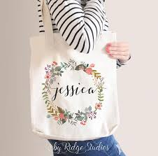 personalized bags for bridesmaids personalized premium tote bag bridesmaid tote bridesmaid