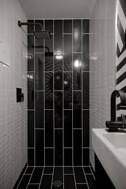 Best Bathrooms Images On Pinterest Room Bathroom Ideas And Home - Bathroom design black and white