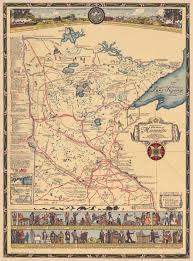 map mn 1931 historical map of mn redwood county historical society
