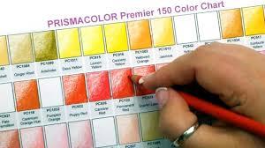 prismacolor pencils 150 prismacolor premier colored pencils 150 color swatches