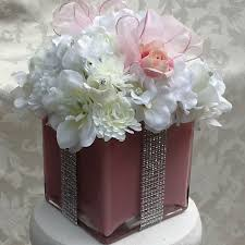 buy a hand crafted silk floral centerpiece for baby shower bridal