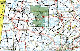 Tennessee Highway Map by Interstate Guide Interstate 22
