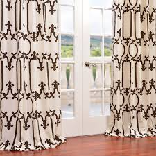 buy royal gate flocked faux silk taffeta curtains