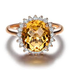 gold topaz rings images Ilsommo zodiac gem certified 3 06 ct mystic yellow topaz 0 5ct h jpg