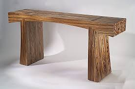 mid century console table natural wood console table fresh mid century modern of rustic lovely