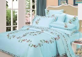 Pale Blue Comforter Set Bedding Color Symbolism