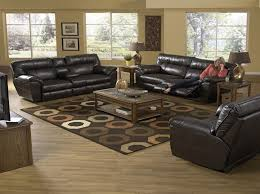power reclining sofa set living room awesome catnapper nolan leather reclining sofa set