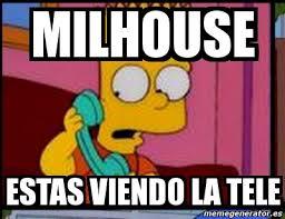 Millhouse Meme - meme personalizado milhouse estas viendo la tele 4725544