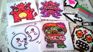 Halloween Cartoon Drawings Halloween Drawings How To Draw Cute Monsters 2 By Garbi Kw