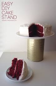 Red Cake Plate Pedestal 50 Gorgeous Do It Yourself Cake Stands