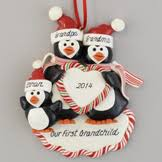personalized ornaments handmade of dough and claydough