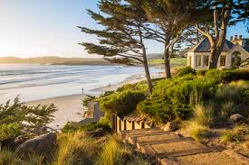 iconic carmel beachfront estate breaks record for highest price