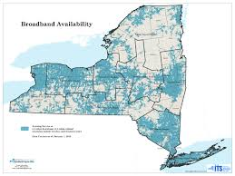 New York Map State by Broadband For All Project Nys Washington County Ny Official