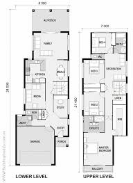 luxury home plans for narrow lots collection house plans for a small lot photos home
