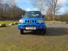jeep light blue suzuki jimny 4x4 blue 1999 jeep in stoke on trent
