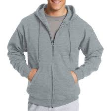 hanes big u0026 tall men u0027s ecosmart fleece zip pullover hoodie with