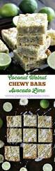 coconut avocado lime bars sweet and savory meals