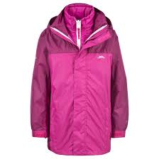 trespass maddox kids 3 in 1 jacket boys and girls waterproof