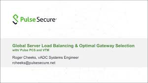 Global Load Balancing Dns And by Global Server Load Balancing With Pulse Secure Pcs And Vtm Youtube