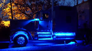 led lights for semi trucks rgb color changing interior signs using 12vdc ecolocity led products