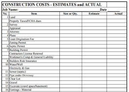 Estimate On Building A House by Construction Estimate Joe Macaluso Construction Cost Consultant