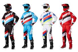 white motocross gear product 2017 shift mx gear sets motoonline com au