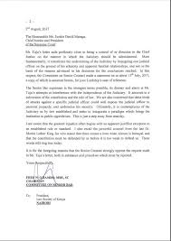 Society Letter Before Society Of Kenya On The Senior Counsel Bar S Letter