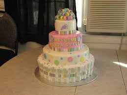 Baby Shower Diaper Ideas Interesting Design How To Make Diaper Cakes For Baby Showers