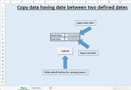 copy data having date between two defined dates to new worksheet