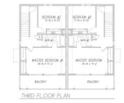 Master Bedroom Plan Sunkist Duplex 9171 3 Bedrooms And 2 Baths The House Designers