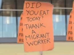 letter to the editor remember migrant workers this thanksgiving