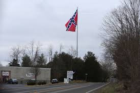 Battle Flag Of The Confederacy Flaggers U0027 Second Attempt To Raise Giant Confederate Battle Flag