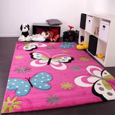 teppich kinderzimmer rosa kinderteppiche