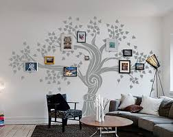 Large Wall Stickers For Living Room by Family Tree Wall Decal Etsy