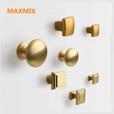 kitchen cabinet door knobs and handles 1pcs golden dresser knobs drawer pulls handles cabinet door
