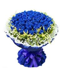 blue roses delivery blue classic 99 blue roses china flowers delivery send flower to